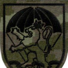 Militaria: PARCHE BRIGADA PARACAIDISTA ZARAGOZA 5 BRIPAC PIXELADO BOSCOSO. Lote 136742674