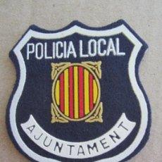 Militaria: PARCHE TELA , POLICIA LOCAL , AYUNTAMENT DE BARCELONA. Lote 137734194