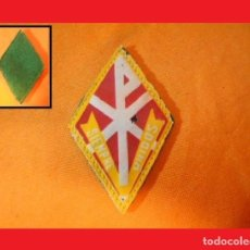 Militaria: PARCHE, INSIGNIA DE SOLAPA, EMBLEMA,ROMBO, -OFERTA NAVIDAD. Lote 139367822