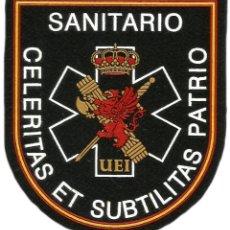 Militaria: PARCHE GUARDIA CIVIL UEI SANITARIO - EB01257. Lote 195414577