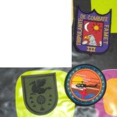 Militaria: LOTE 3 - 5 PARCHES DE HELICÓPTERTOS VARIADOS FAMET FUERZAS AEROMÓVILES DE EJERCITO DE TIERRA ATEN L. Lote 142814446
