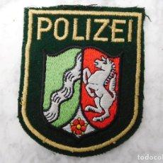 Militaria: PARCHE BORDADO POLICÍA ALEMANA RENANIA - WESTFALIA. Lote 143399638