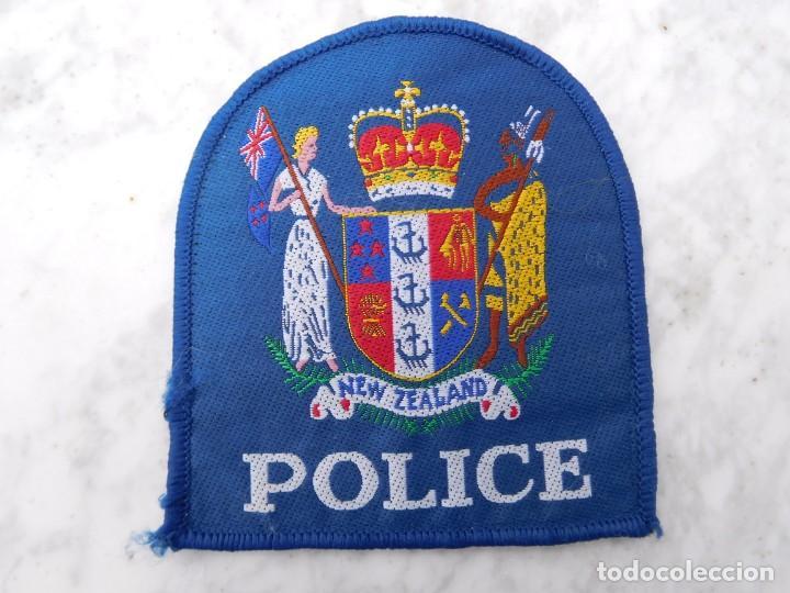 PARCHE BORDADO POLICÍA DE NUEVA ZELANDA (Militar - Parches de tela )
