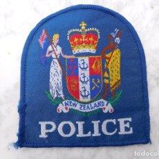 Militaria: PARCHE BORDADO POLICÍA DE NUEVA ZELANDA. Lote 143399726