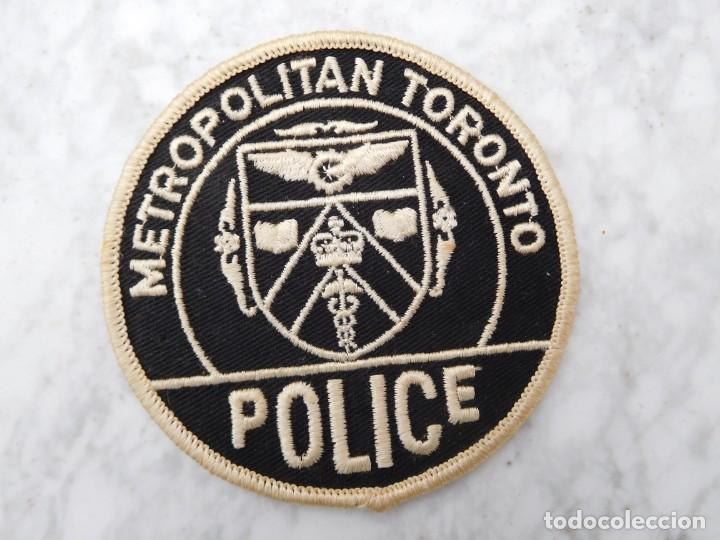 PARCHE BORDADO POLICÍA DE TORONTO CANADÁ (Militar - Parches de tela )