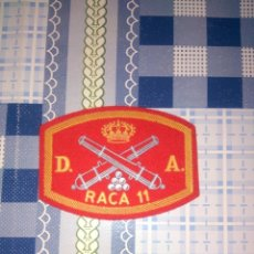 Militaria: PARCHE RACA 11 DIVISION ACORAZADA ARTILLERIA. Lote 144155338