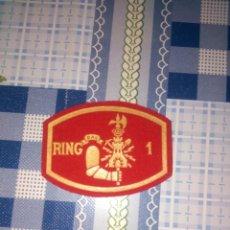 Militaria: PARCHE REGIMIENTO INGENIERO 1 DIVISION ACORAZADA RING 1. Lote 144155790