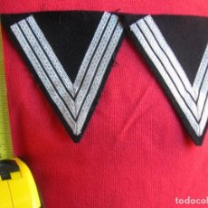 Militaria: PAREJA DE PARCHES DE BRAZO DE UNIFORME DE GENDARME. GENDARMERIA FRANCESA.. Lote 145391366