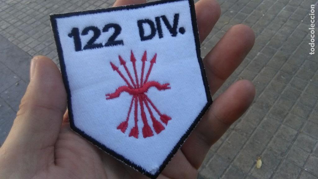 PARCHE DE FALANGE DIVISION 122 ENVIO GRATIS (Militar - Parches de tela )