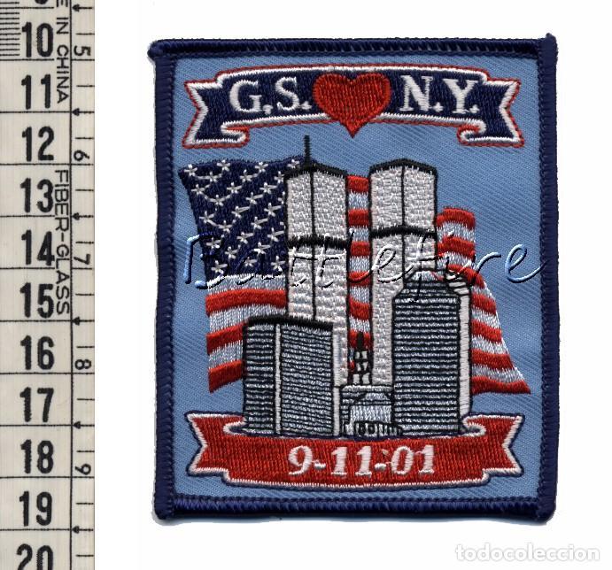 G.S.N.Y. - 9-11-01 - USA - PARCHE 11S (Militar - Parches de tela )