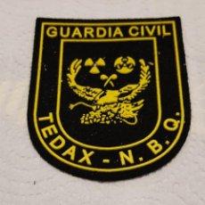 Militaria: PARCHE GUARDIA CIVIL TEDAX N.B.Q. EXPLOSIVOS. Lote 147624222