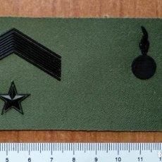 Militaria: GALLETA PECHO DIVISAS SUBTENIENTE ARTILLERIA. Lote 147723630