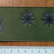 Militaria: PARCHE GALLETA DE PECHO DIVISAS TENIENTE CORONEL ARTILLERIA. Lote 147725186