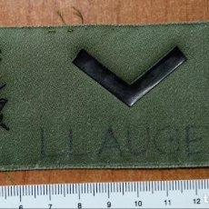 Militaria: PARCHE GALLETA DE PECHO DIVISAS ALUMNO IMEC. Lote 147726730