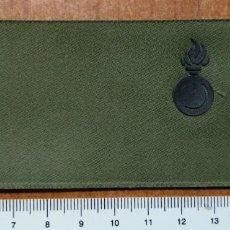 Militaria: PARCHE GALLETA DE PECHO DIVISAS SOLDADO ARTILLERIA. Lote 147727086