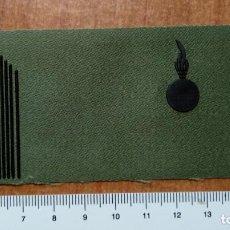 Militaria: PARCHE GALLETA DE PECHO DIVISAS BRIGADA ARTILLERIA. Lote 147728018