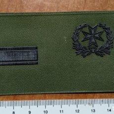 Militaria: PARCHE GALLETA DE PECHO DIVISAS CABO PRIMERO SANIDAD. Lote 147729314