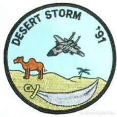 Militaria: PARCHE USA DESERT STORM 91. Lote 148206370
