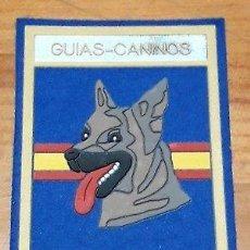 Militaria: PARCHE DE POLICÍA NACIONAL GUÍAS CANINOS. . Lote 149766802