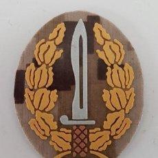 Militaria: PARCHE EMBLEMA CURSO OPERACIONES ESPECIALES COE MOE UOE BOEL ARIDO PIXELADO. Lote 188830608