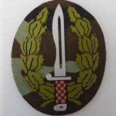 Militaria: PARCHE CURSO OPERACIONES ESPECIALES COE MOE BOEL BOINA VERDE BOSCOSO. Lote 188829266