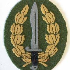 Militaria: EMBLEMA CURSO OPERACIONES BOINA VERDE COE MOE UOE BOEL. Lote 174893929
