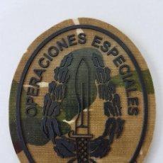 Militaria: PARCHE OPERACIONES ESPECIALES BOINA VERDE COE MOE UOE BOEL EZAPAC FGNE OVALADO ROCOSO. Lote 188829332