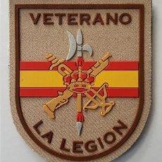 Militaria: PARCHE VETERANO LA LEGION BOEL ARIDO. Lote 156174765