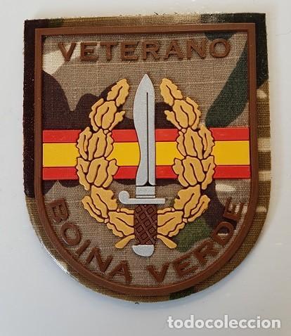 PARCHE VETERANO BOINA VERDE COE MOE UOE BOEL EZAPAC ROCOSO (Militar - Parches de tela )
