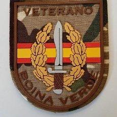 Militaria: PARCHE VETERANO BOINA VERDE COE MOE UOE BOEL EZAPAC ROCOSO. Lote 155236773