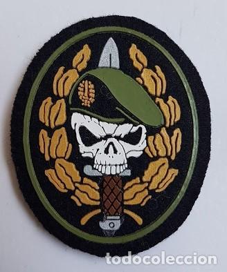 PARCHE COE MOE UOE BOEL EZAPAC FGNE BOINA VERDE CALAVERA (Militar - Parches de tela )