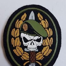 Militaria: PARCHE COE MOE UOE BOEL EZAPAC FGNE BOINA VERDE CALAVERA. Lote 176615394