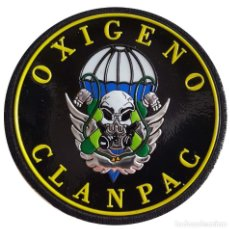 Militaria: PARCHE DE LA BRIPAC. CLANPAC. MODELO 2 . COMPAÑIA DE LANZAMIENTO PARACAIDISTA. Lote 151429985