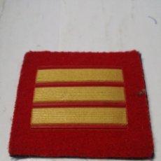 Militaria: PARCHE GALONES DE SARGENTO EJÉRCITO ESPAÑOL. Lote 151427352