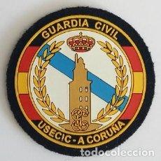 Militaria: PARCHE POLICÍA GUARDIA CIVIL USECIC (190). Lote 151457882