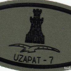 Militaria: ZAPADORES INGENIEROS UZAPAT 7 EJERCITO ESPAÑOL PARCHE EMBLEMA. Lote 207940881