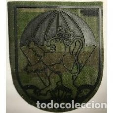 Militaria: PARCHE BRAZO NUEVO REGIMIENTO INFANTERIA ZARAGOZA 5 BRIGADA ALMOGARAVES VI DE PARACAIDISTAS. Lote 152607306