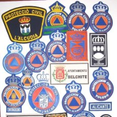 Militaria: LOTE DE PARCHES PROTECCION CIVIL. Lote 152795925