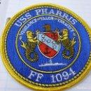 Militaria: U.S.S. PHARRIS - FF 1094 -PARCHE DE TELA -N. Lote 153239106