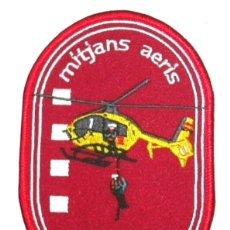 Militaria: PARCHE BOMBEROS CATALUÑA GRAE HELICOPTEROS RESCATE. Lote 251022795