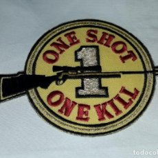 Militaria: PARCHE ONE SHOT ONE KILL . Lote 154054782