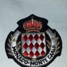 Militaria: PARCHE MONACO MONTE CARLO. Lote 154055186
