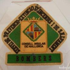 Militaria: BOMBEROS MALLORCA. BOMBERS. CONSELL INSULAR DE MALLORCA. SERVEI DE PREVENCIO EXTINCIO D'INCENDIS I . Lote 154304478