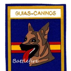Militaria: PARCHE GUIAS CANINOS - POLICÍA NACIONAL - ESPAÑA. Lote 154549662