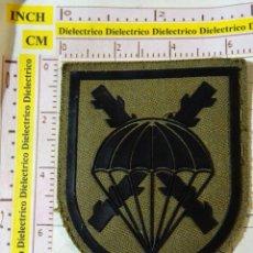 Militaria: PARCHE MILITAR. EJÉRCITO ESPAÑOL. BANDERA PARACAIDISTA BRIPAC. Lote 154561442