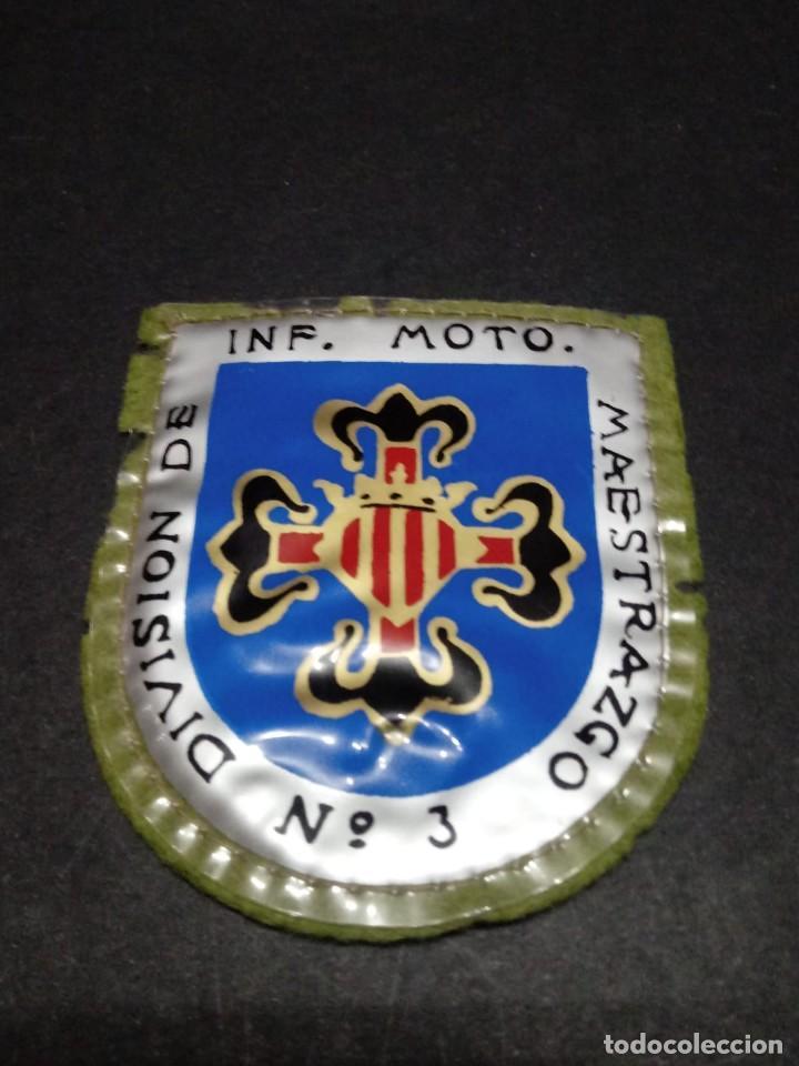 PARCHE DIVISIÓN INF. MOTO. MAESTRAZGO Nº3 (Militar - Parches de tela )