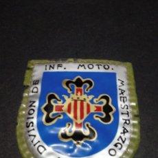 Militaria: PARCHE DIVISIÓN INF. MOTO. MAESTRAZGO Nº3. Lote 155419766