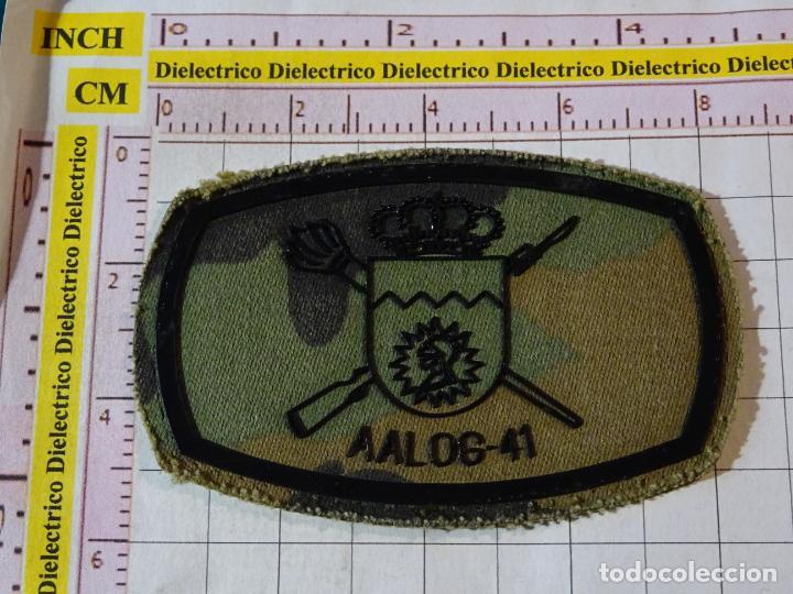 PARCHE MILITAR. EJÉRCITO ESPAÑOL. AGRUPACIÓN LOGÍSTICA AALOG 41. (Militar - Parches de tela )