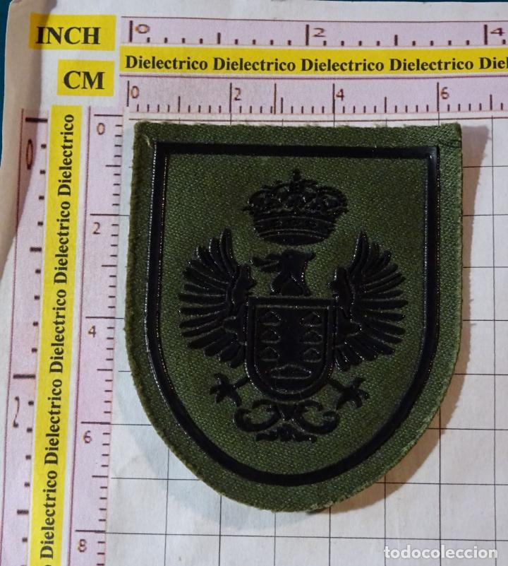 PARCHE MILITAR. EJÉRCITO ESPAÑOL. REGIÓN GOBIERNO MILITAR ZONA CANARIAS (Militar - Parches de tela )