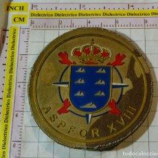 Militaria: PARCHE MILITAR. EJÉRCITO ESPAÑOL. ASPFOR XVIII. MISIONES AFGANISTAN REGIMIENTO CANARIAS. Lote 155862170